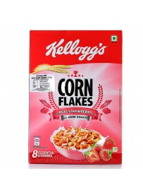 Kelloggs Strawberry Flv Corn Flake - 300g