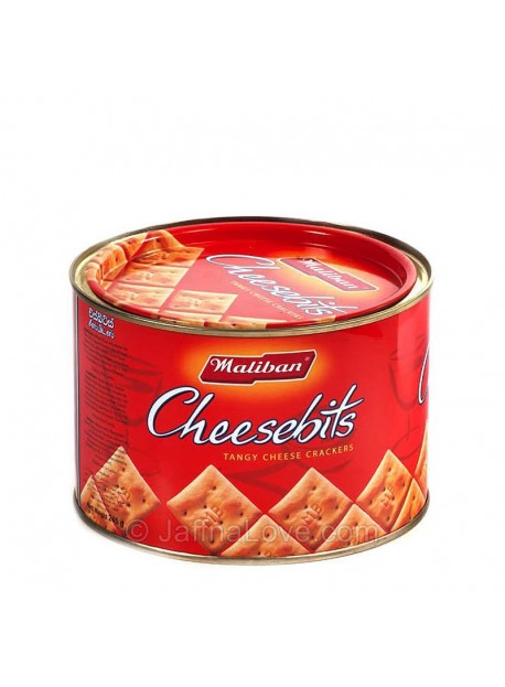 Maliban Cheese Bits(Tin) - 245g