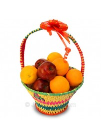 Apple & Orange Fruit basket