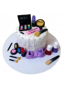 Makeup Set Cake
