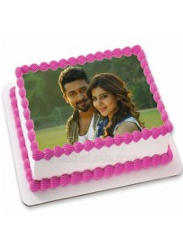 Print your own image - Square Cake