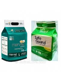 Adult Diapers - Large - 10 Pieces