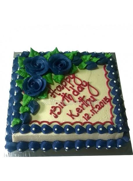 Square cake