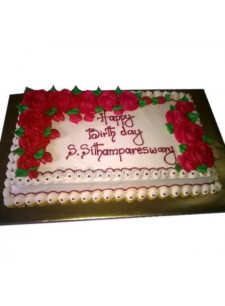 Rectangle Cake