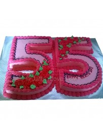 55th Birthday Cake