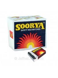 Soorya Wax matches