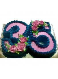 35th Birthday Cake