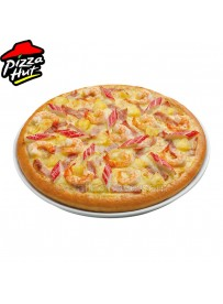 Prawn with Chicken Bacon & Jalapeno Pizza