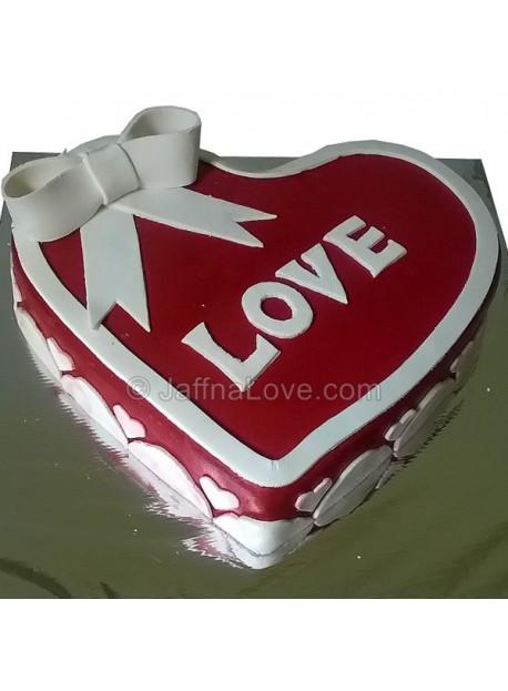 Romance Heart Cake