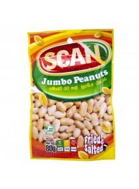 Scan Jumbo Peanuts - 80g