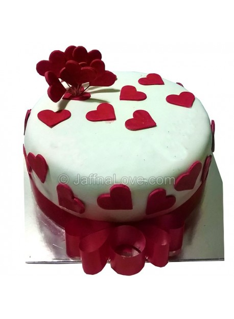 Love Wrapped Cake