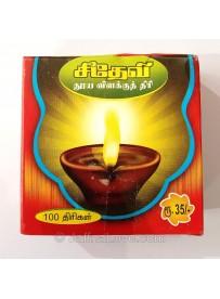 Vilakku Thiri (விளக்கு திரி) - 100pcs