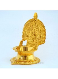 Brass Ashtalakshmi Lamp - 14cm(Height)