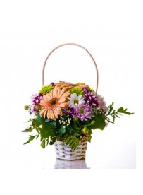 Small Basket Of Flowers