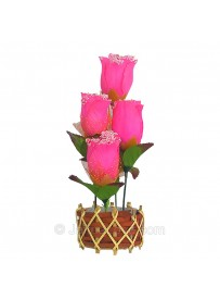 Roses on the Vase (Artificial Rose)