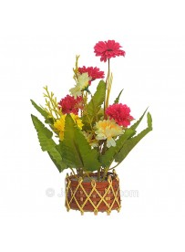 Flowers on the Vase (Artificial Rose)