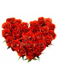 Heart Shaped Box of Roses