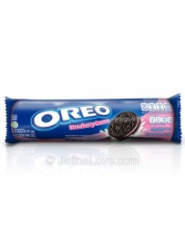 Oreo Strawberry Cream Biscuits - 133g