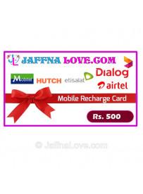 Rs. 500 Prepaid Phone Card