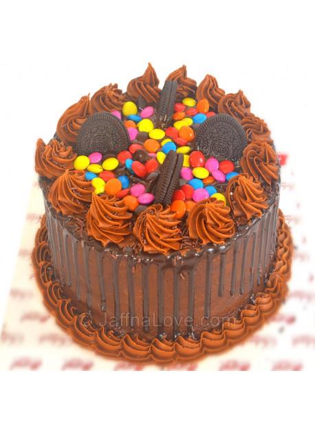 Smarties Chocolate with Oreo Cake