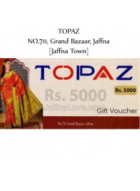 Rs. 5000 TOPAZ Gift Voucher
