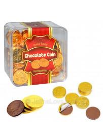 Gold Coin Chocolates 100 Pcs Box