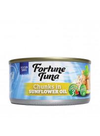 Fortune Tuna Chunks in Sunflower Oil - 185g