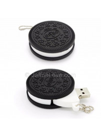 Oreo Biscuit Shaped Pen Drive - 64 GB