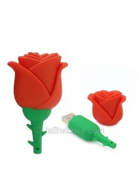 Romantic Rose Pen Drive - 64GB