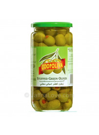 Coopoliva Stuffed Green Olives - 450g