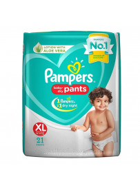 Pampers Baby Dry Pants - Size XL (12-17Kg) - 21 Pants