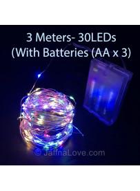 Party Decoration LED String lights - 3M- 30LEDs