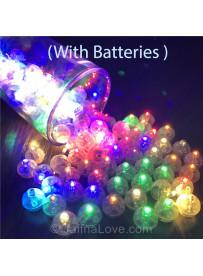 Party Decorations Balloon LED Flash Luminous Lamps - 10pcs