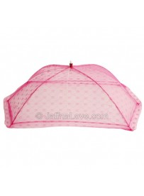 Umbrella Baby Mosquito Net -Pink