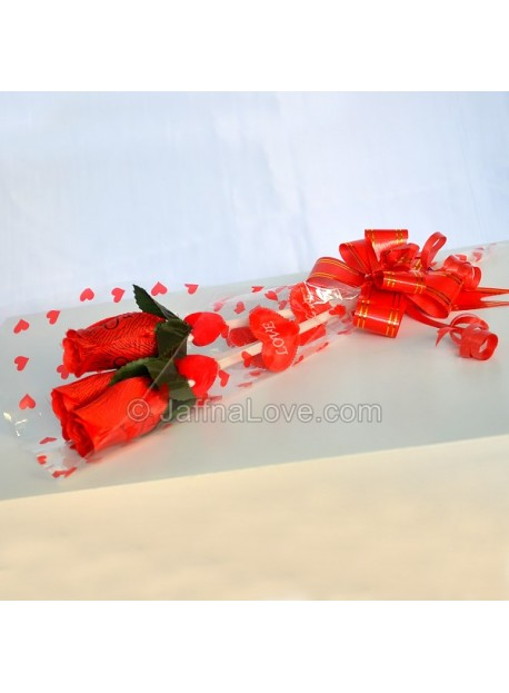 3 Roses Bouquet(Artificial)