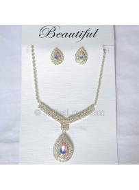 Silver Plated Fashion Jewelry Set