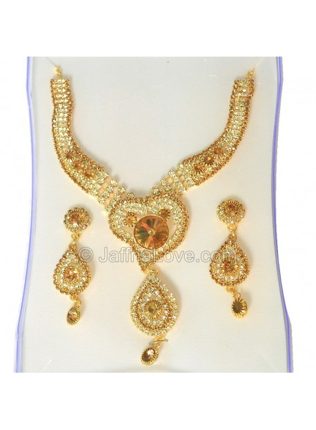 Gold Plated Fashion Jewelry Set