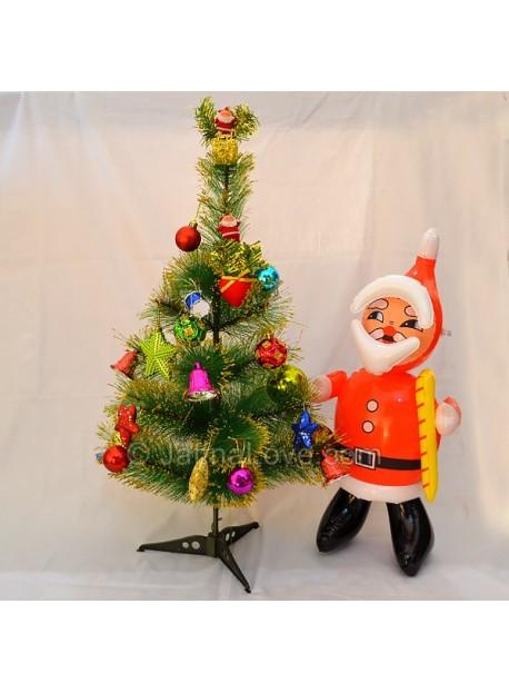Santa Doll & Christmas Tree With Decoration Kit