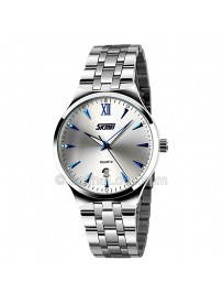 Stainless Steel Luxury Men's Luminous Wrist Watch