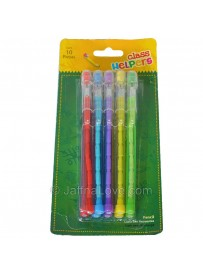 Pop Up Pencil Set - 10 Pcs