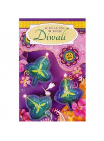 Deepavali Wishes Card