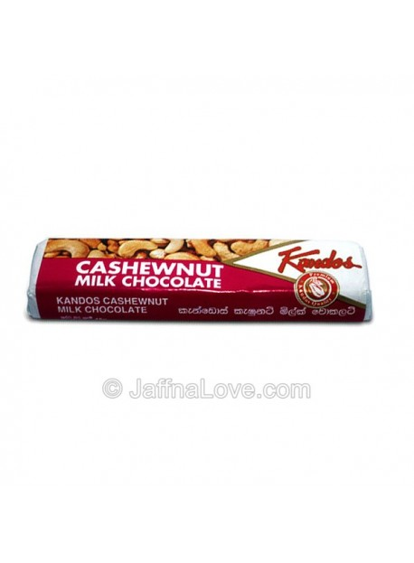 Kandos Cashew Nuts Milk Chocolate Bar - 45g