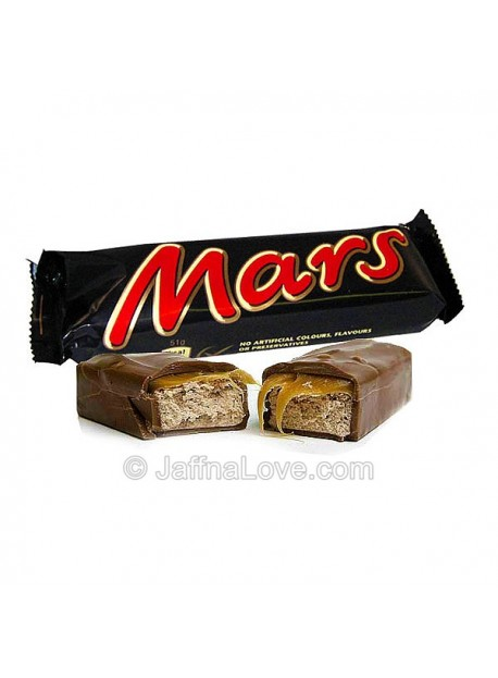 Mars Chocolate Bar - 51g
