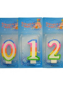 Numeral Birthday Candles