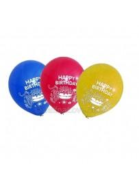10 Pcs Birthday Balloons