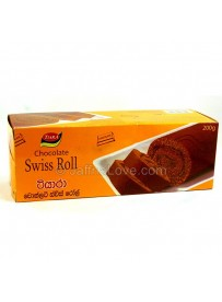 Tiara Chocolate Swiss Roll - 200g