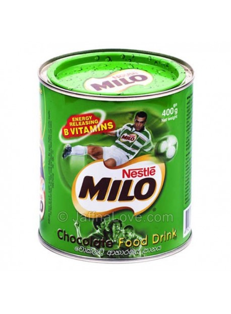 Milo Chocolate Powder- 400g(Tin)