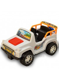Wind-up Jeep Toy