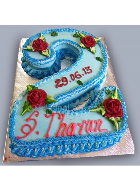 Fantastic 2Nd Birthday Cake Jaffnalove Com Funny Birthday Cards Online Fluifree Goldxyz